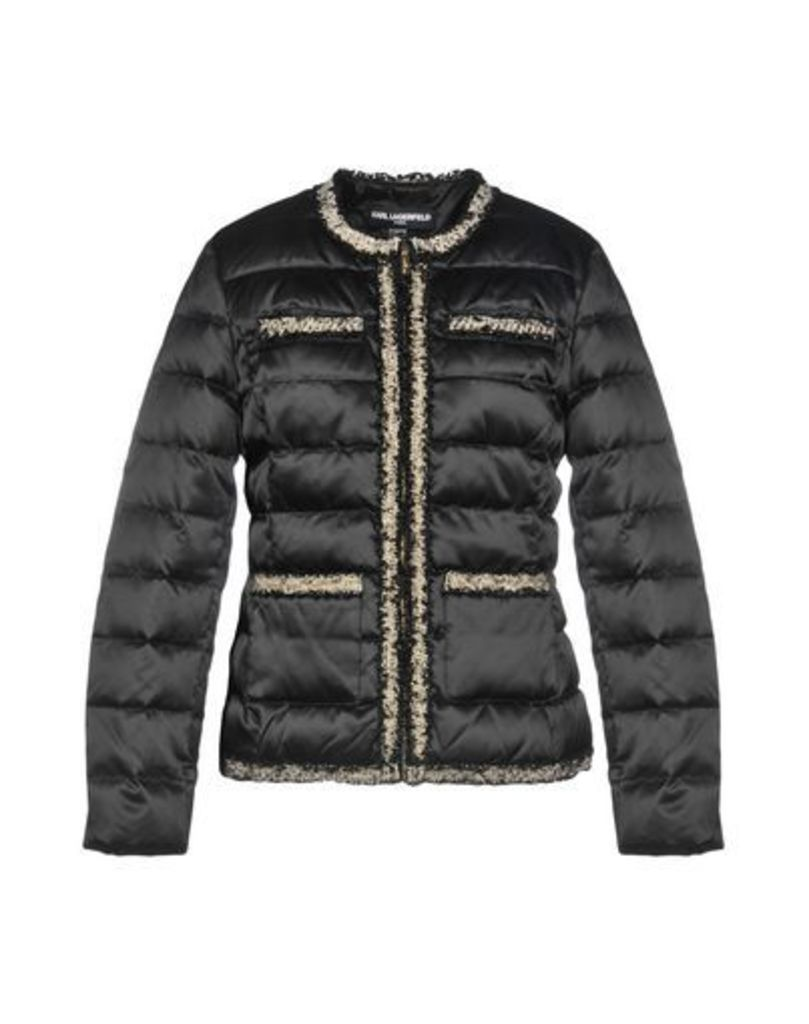 KARL LAGERFELD COATS & JACKETS Down jackets Women on YOOX.COM
