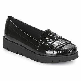 Geox  D BLENDA  women's Loafers / Casual Shoes in Black