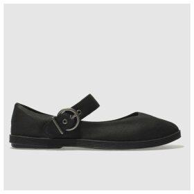 Blowfish Black Getaway Flat Shoes