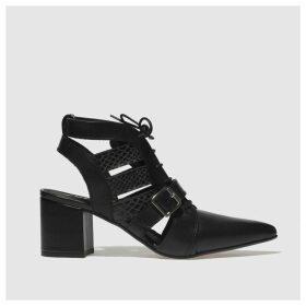 Schuh Black Driven Low Heels