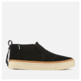 TOMS Women's Paxton Suede Mid Slip On Trainers - Black