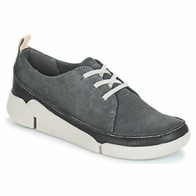 Clarks  TRI  women's Shoes (Trainers) in Grey