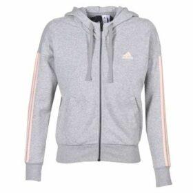 adidas  ESS 3S FZ HD  women's Sweatshirt in Grey
