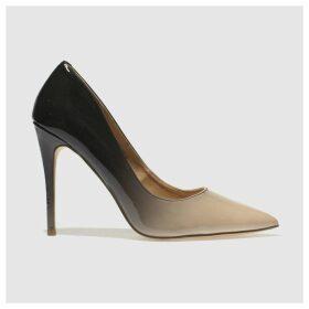 Schuh Stone & Black Flirty High Heels