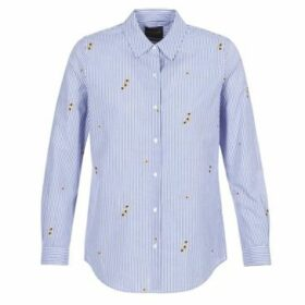Maison Scotch  HEATRE  women's Shirt in Blue