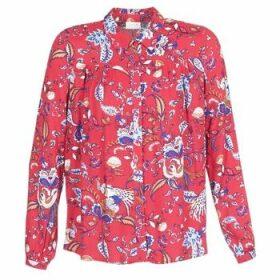 Vila  VIESTO  women's Shirt in Red