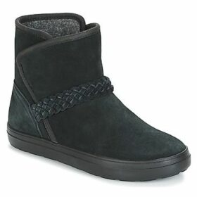 Crocs  LODGEPOINT SUEDE BOOTIE W  women's Mid Boots in Black