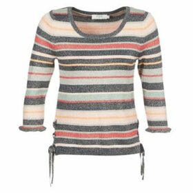 Cream  FIONA  women's Sweater in Multicolour