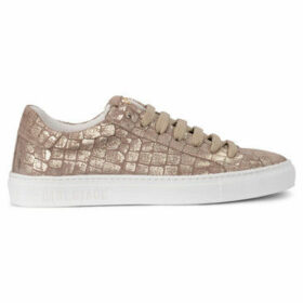 Hide jack  Essence Stellar dove and golden suede sneaker  women's Shoes (Trainers) in Gold