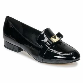 MICHAEL Michael Kors  CAROLINE LOAFER  women's Loafers / Casual Shoes in Black