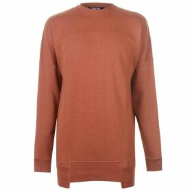 Firetrap Backseal Panel Sweater Dress - Orange