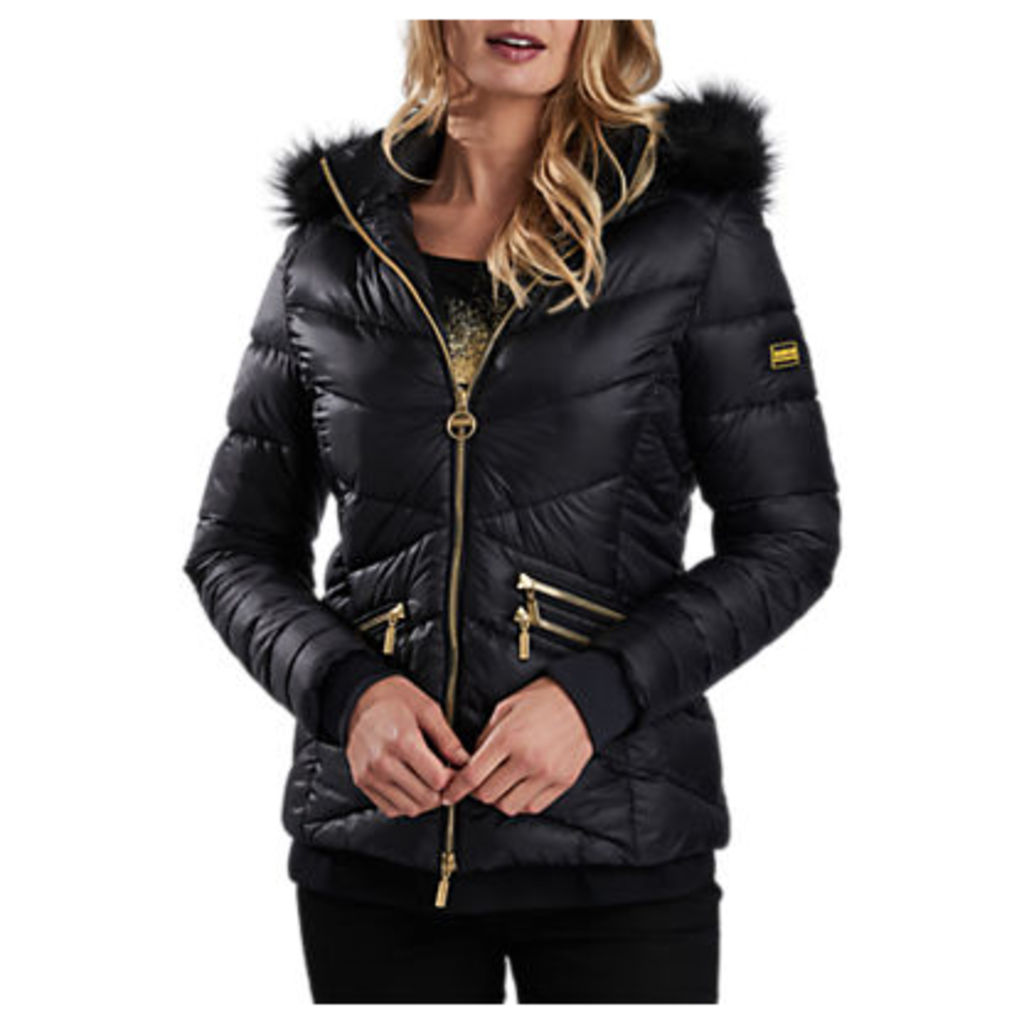 Barbour International Turbo Quilted Hooded Jacket
