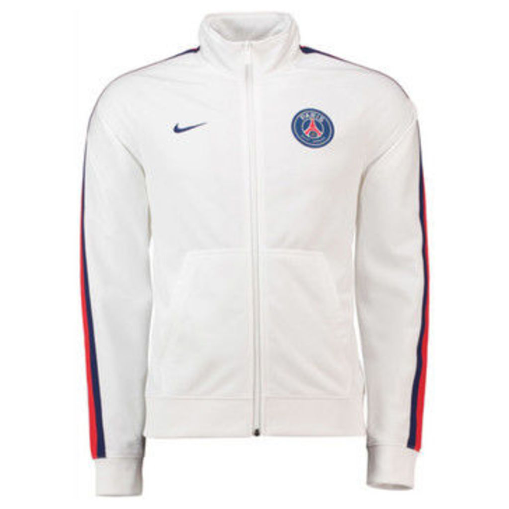 Nike  2018-2019 PSG Core Trainer Jacket  women's Tracksuit jacket in White