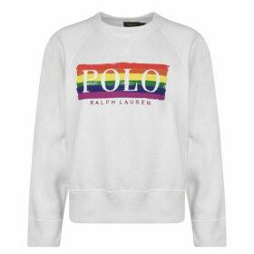 Polo Ralph Lauren Multi Print Crew Sweatshirt