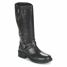 Les Tropéziennes par M Belarbi  LAURA  women's High Boots in Black