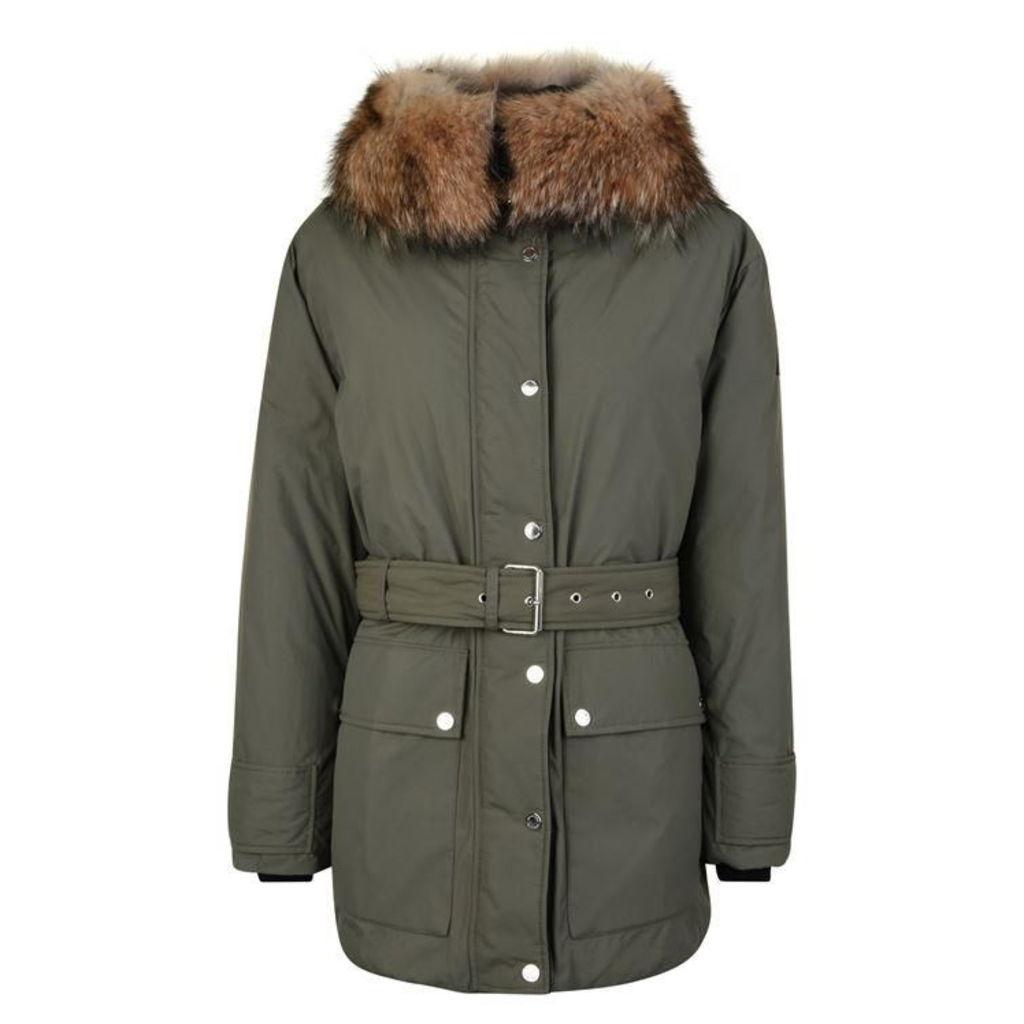 BELSTAFF Dawlby Hooded Down Jacket