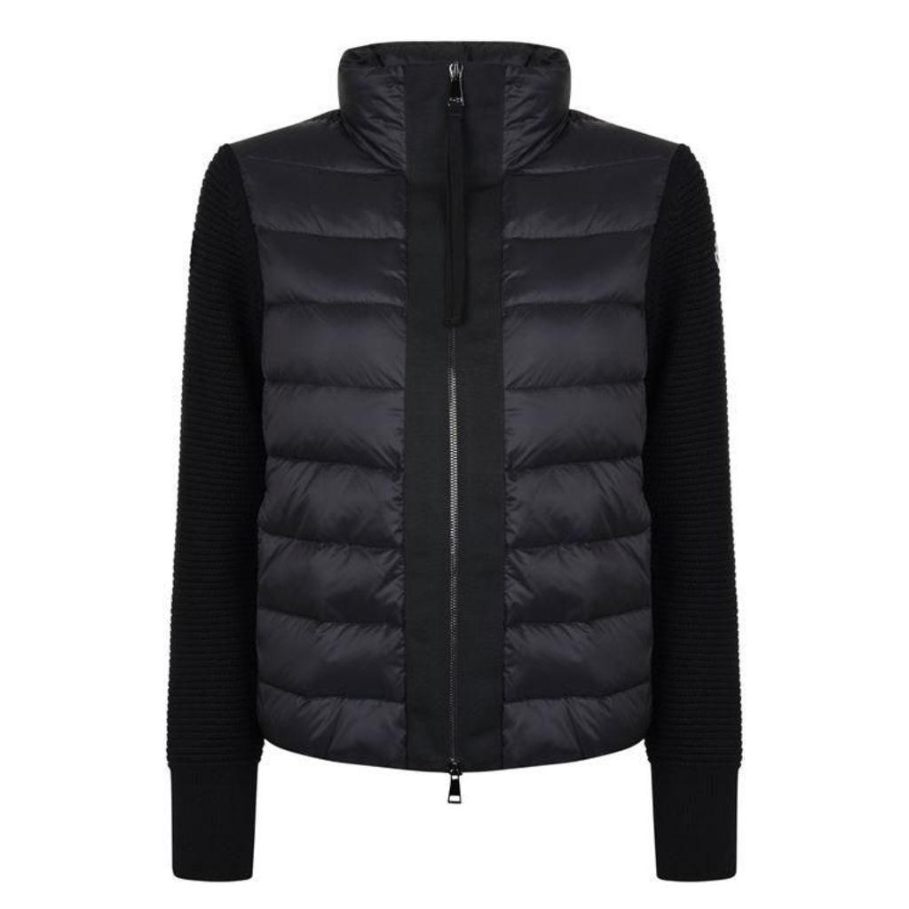 MONCLER Short Tricot Jacket