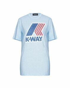 DSQUARED2 x K-WAY TOPWEAR T-shirts Women on YOOX.COM