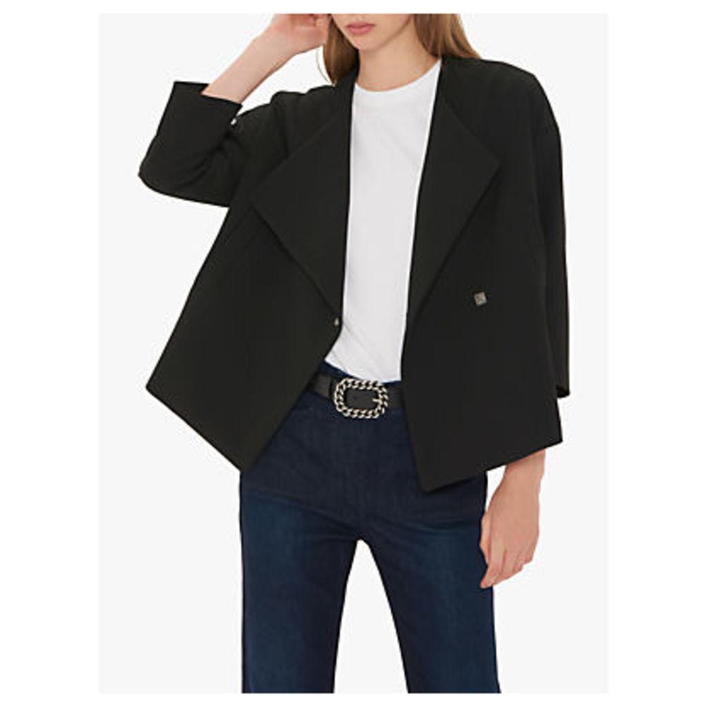 Gerard Darel High Shoulder Savannah Jacket, Black
