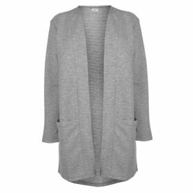 JDY Amara Long Sleeve Cardigan - Grey