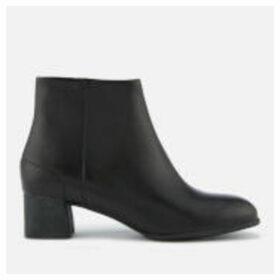 Camper Women's Katie Leather Heeled Ankle Boots - Black - UK 8 - Black