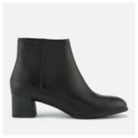 Camper Women's Katie Leather Heeled Ankle Boots - Black