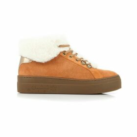 Everest Fur-Lined Leather Trainers