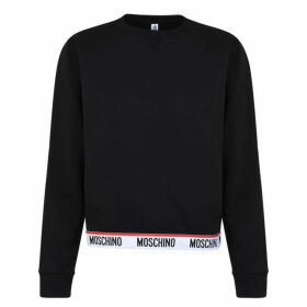Moschino Logo Band Sweatshirt