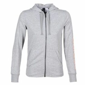 adidas  ESS LIN FZ HD  women's Sweatshirt in Grey