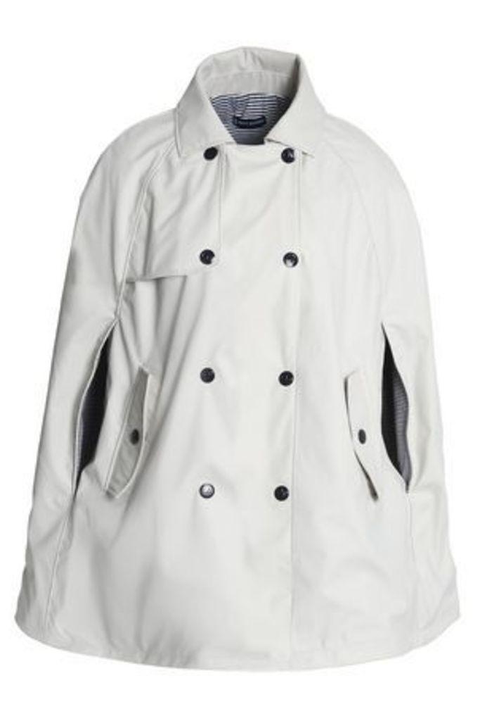 Petit Bateau Woman Shell Jacket Light Gray Size ONESIZE