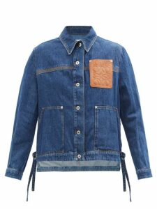 Rodarte - Ruffled Bow-appliqué Tulle Blouse - Womens - Black White