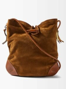 Gabriela Hearst - Lisa Plaid Wool-blend Trousers - Womens - Pink Multi