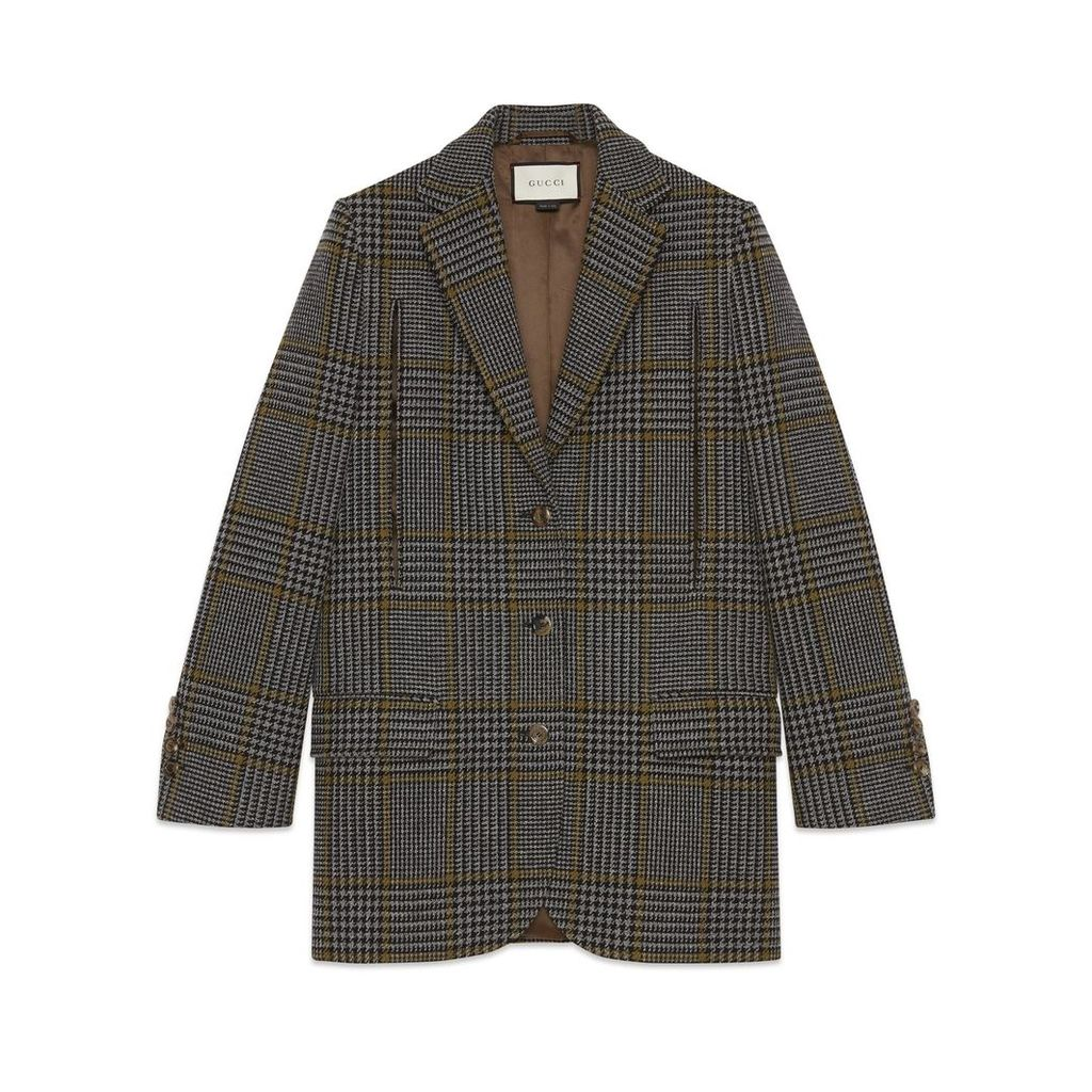 Prince of Wales cape jacket