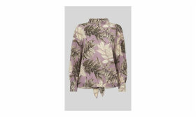 Arabella Print Silk Top