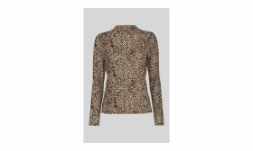 Leopard Print Essential Top