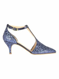 Polly Plume Polly Plume Jackie Wannabe Glitter Pumps