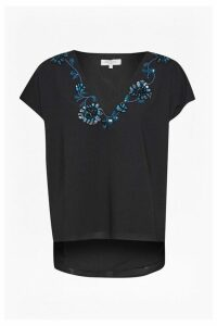 Belladonna Embroidered Blouse