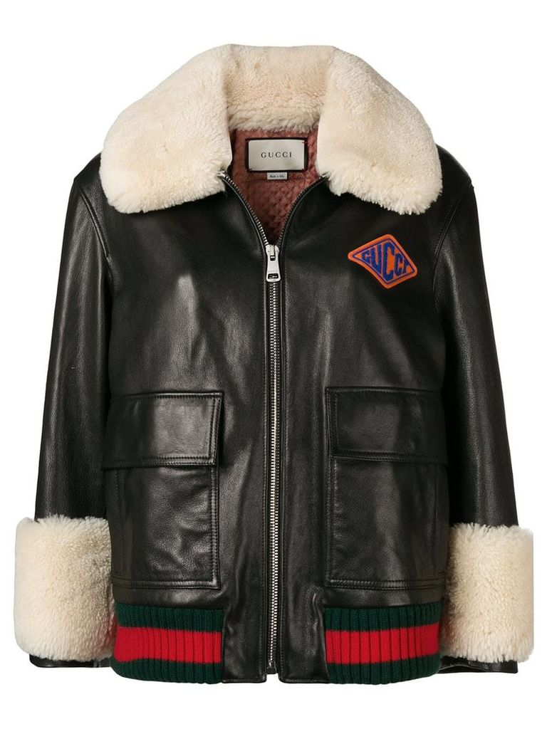 Gucci Logo Patch Bomber