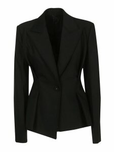 Helmut Lang Single Breasted Cinched Waist Blazer