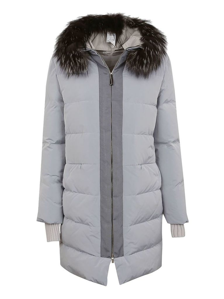Fabiana Filippi Fur Trimmed Padded Jacket