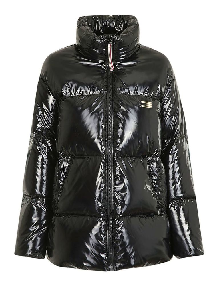 Tommy Icons High Gloss Padded Jacket