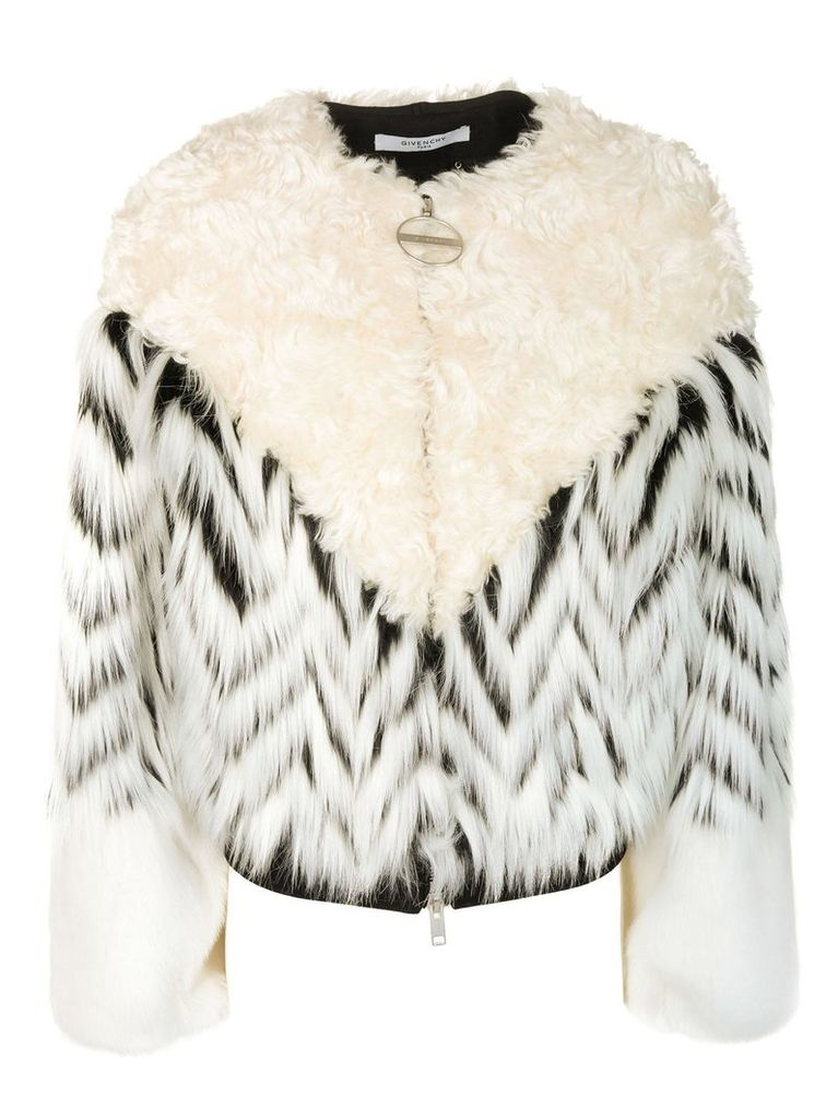 Givenchy Fur Detailed Bomber