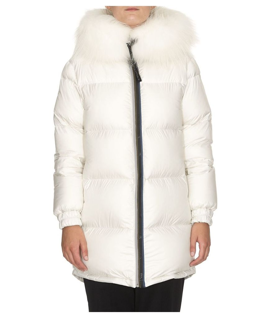 Mr & Mrs Italy Reversible Overcoat Down Jacket