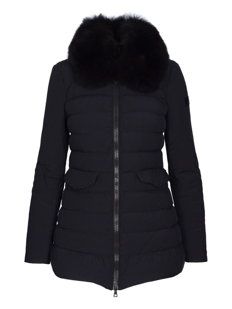 Peuterey Misae Ag Fur Jacket With Hood
