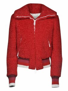 Marco de Vincenzo Furred Zipped Jacket