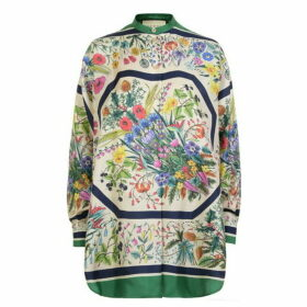 Gucci Floral Silk Shirt