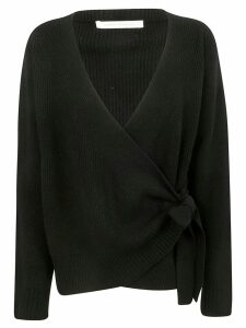 Saverio Palatella Tie Detail Sweater