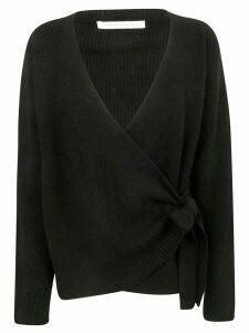 Saverio Palatella Tie Detail Sweater