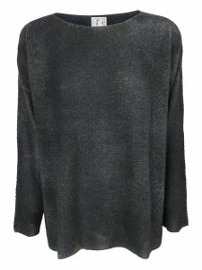 f cashmere Flared Sweater