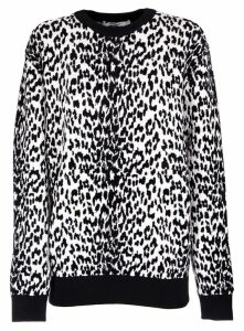 Givenchy Leopard Jumper In Jacquard